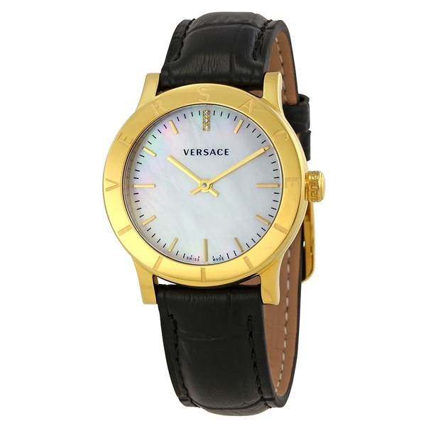 Đồng Hồ Versace VQA060017 Acorn Mother of Pearl Dial Ladies Leather Watch