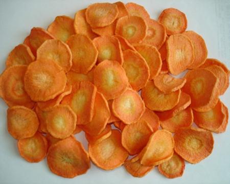 Cách làm cà rốt sấy khô