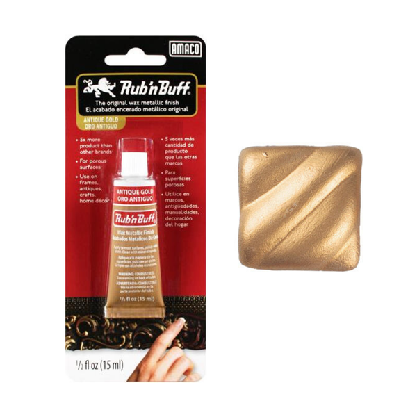 MÀU KIM LOẠI - RUB'NBUFF WAX METALLIC FINISH (NEW)