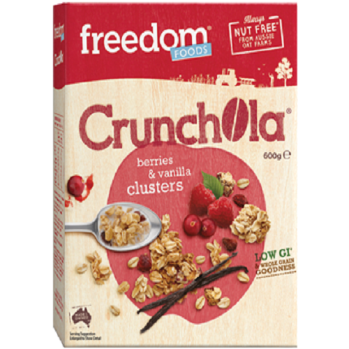 Freedom Foods Freeoats Crunchola, Apple /vanilla 600g