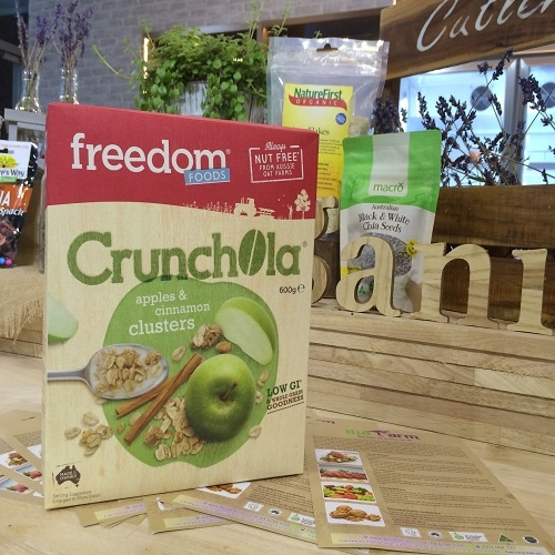 Freedom Foods Freeoats Crunchola, Apple /cinamon 600g