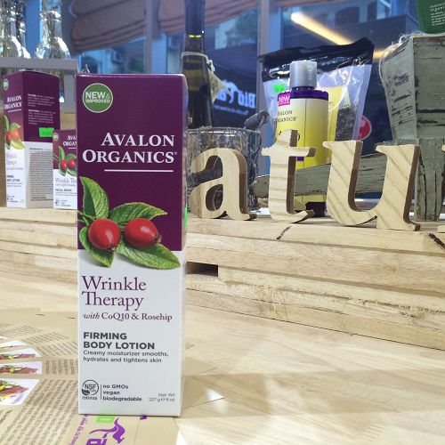 Avalon Organics, Whinkle Therapy Firming Body Lotion