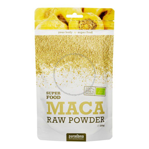 Maca Raw Powder 200g Purasana