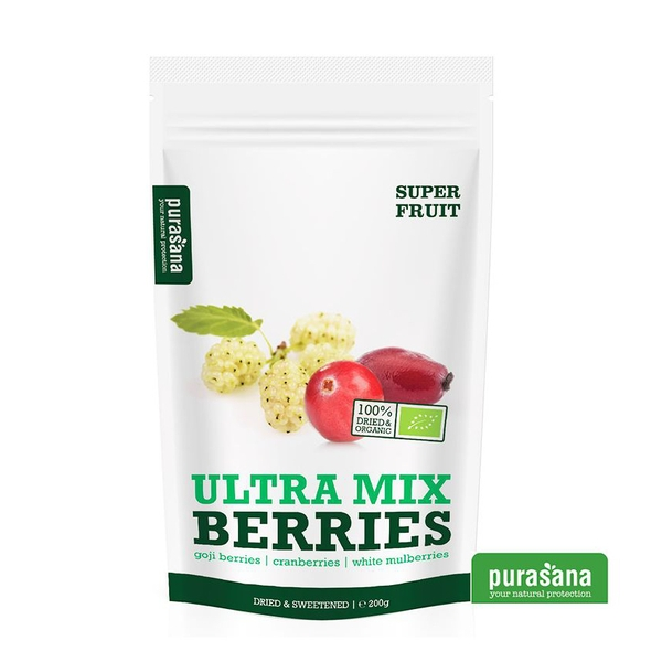 ULTRA MIX BERRIES 200G PURASANA