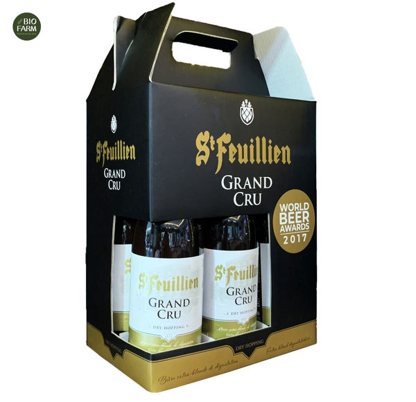 Set 6 chai Bia Grand Cru Bỉ 330ml
