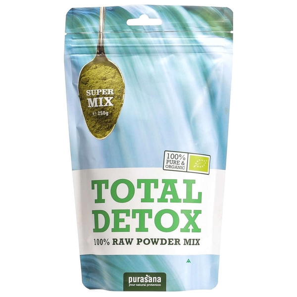 Total Detox 100% Raw Powder Mix 250gr
