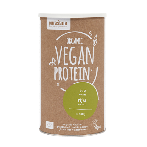 Vegan Protein Rice natural taste 400g Purasana