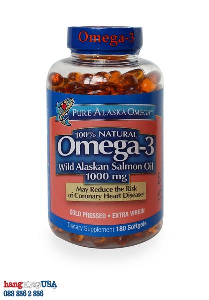 Vi N D U C Pure Alaska Omega 3 Wild Salmon Oil 1000mg
