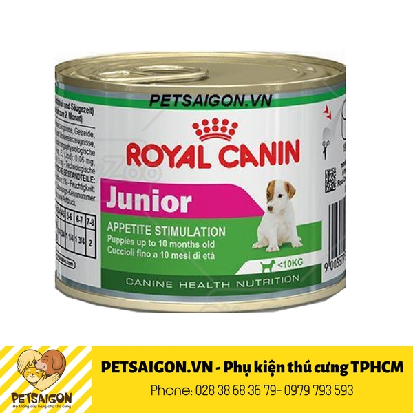 Royal Cani Pate Mini Junior 195gr