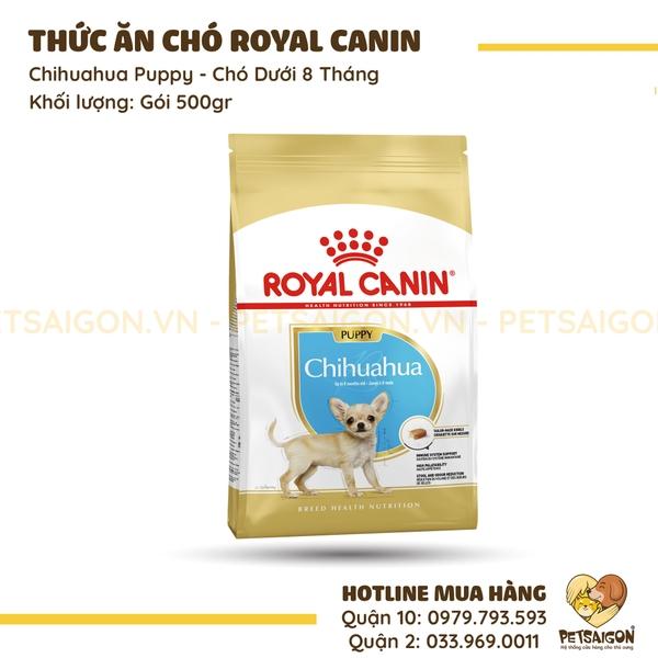 Royal Canin - Chihuahua Puppy Cho Chó Dưới 8 Tháng