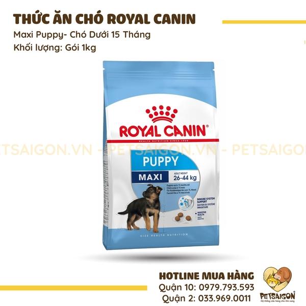 Royal Canin - Maxi Puppy Cho Chó Dưới 15 Tháng