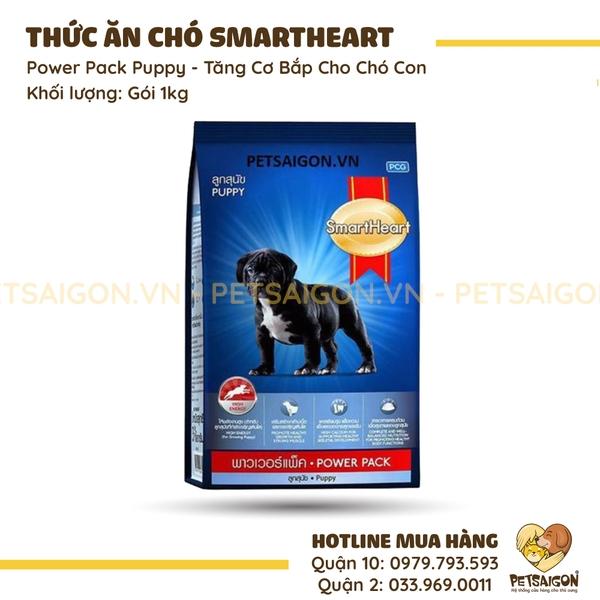 Thức Ăn Smartheart Power Pack Puppy Tăng Cơ Bắp