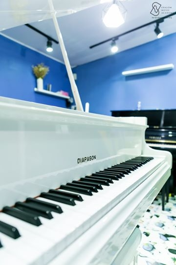BAYBY GRAND PIANO DIAPASON