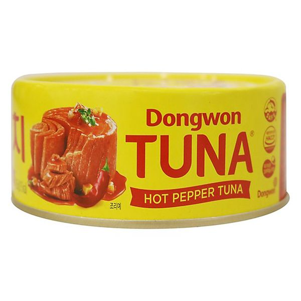 Cá ngừ ớt cay Dongwon 100g