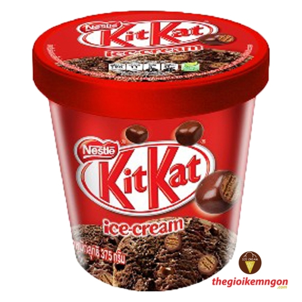 Kem kitkat chocolate pint nestle