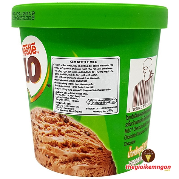 Kem milo pint nestle