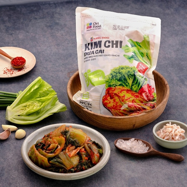 Kim chi dua cai king bbq ori food