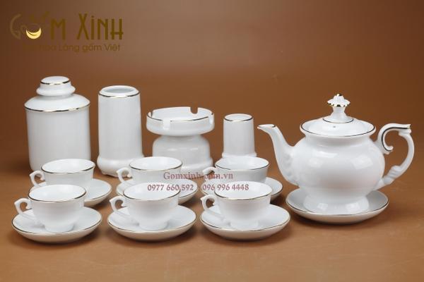 Bộ trà Bát Tràng đẹp
