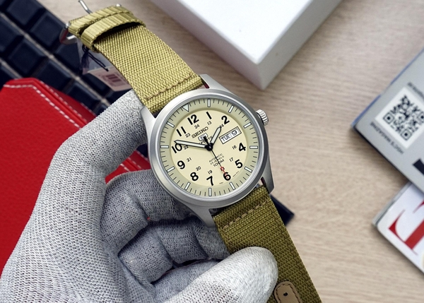 SEIKO 5 SPORTS SNZG07K1 - NAM - AUTOMATIC - KÍNH CỨNG - 42MM