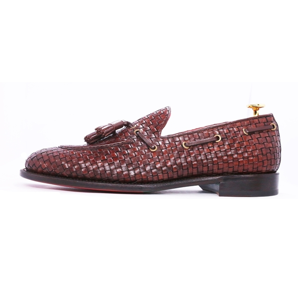 Braided Tassel Loafer YL09