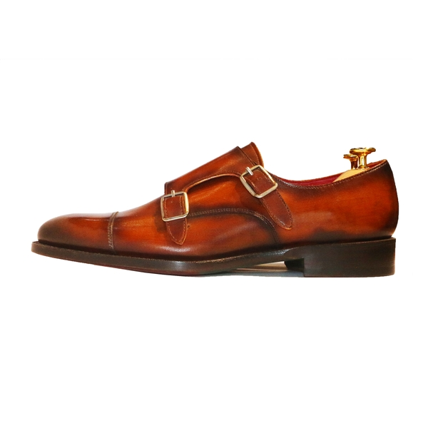 Cap Toe Double Monk XL06