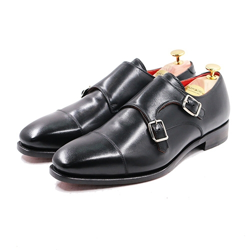 Cap Toe Double Monk AL01
