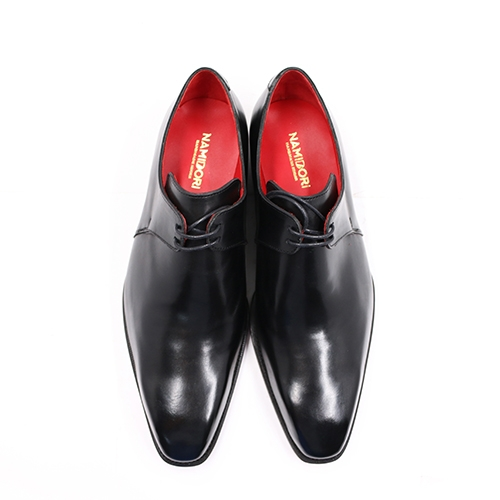 Plain Toe Derby YL03 Black 421