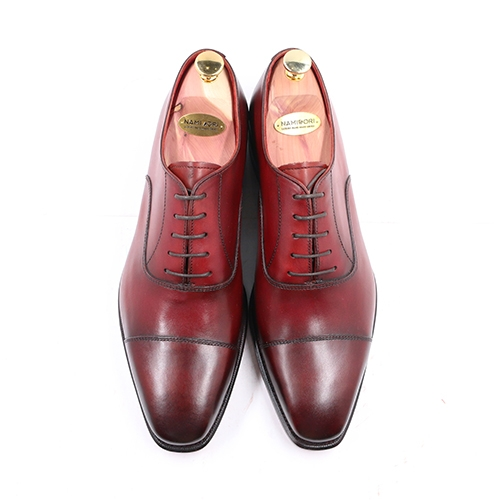 CAP TOE OXFORD PATINA XL01
