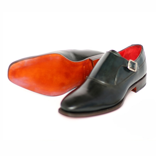 Plain Toe Single Monk BL01