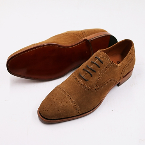 Semi Brogues Oxford Suede SL10