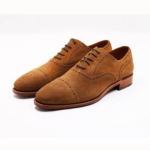 SEMI BROGUES OXFORD SUEDE