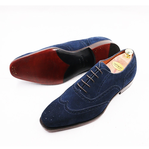 WINGTIP OXFORD SUEDE