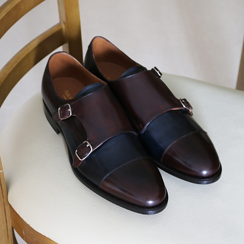 Patina - Double Monk Strap MTO