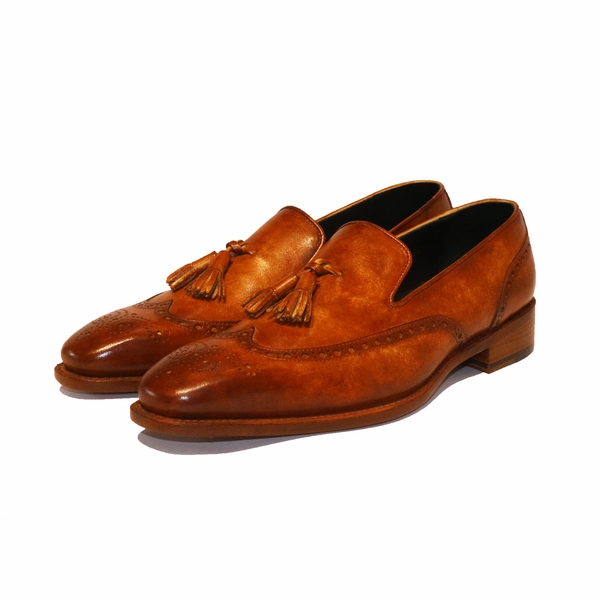 Wingtip Tassel Loafer XL02