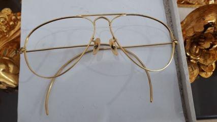 kính thời trang mạ vàng