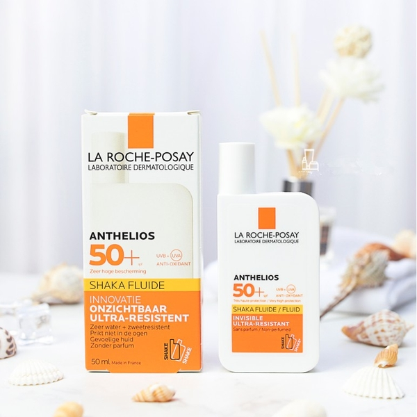 Kem chống nắng La roche Posay ANTHELIOS ULTRA SHAKA FLUID Spf50+