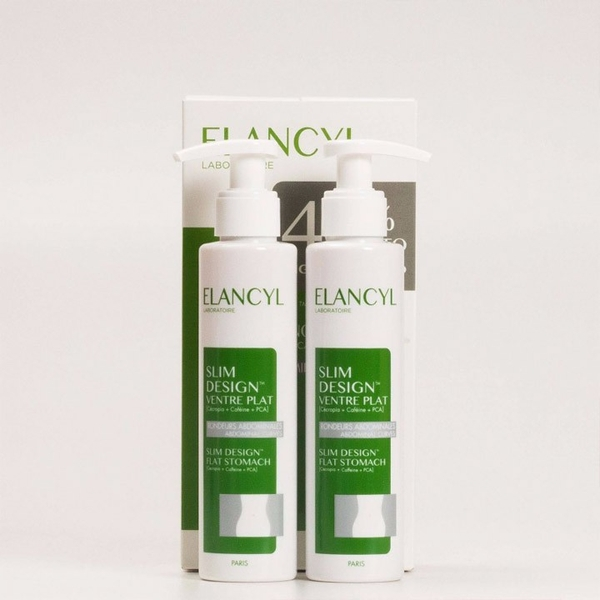 Kem Tan Mỡ Bụng Elancyl Slim Design Ventre Flat 150ml