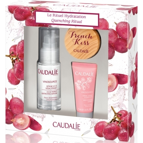 Set 3 món Caudalie Vinosource Rituel Hydratation