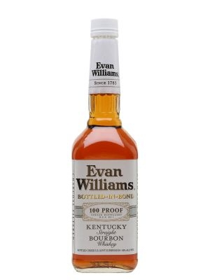 Whisky Mỹ Evan Williams Bourbon Bottled-In-Bond White Label