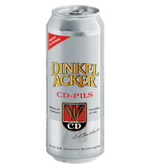 Bia Dinkelacker CD Pils 4.9% – Lon 500ml – Thùng 24 Lon