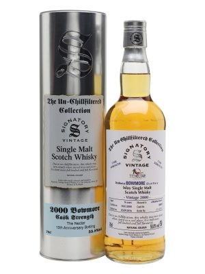 BOWMORE 2000 16YO THE NECTAR SIGNATORY