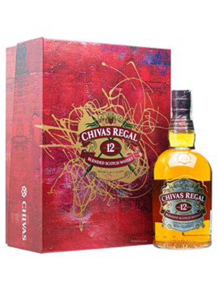 Rượu Chivas Regal 12YO Gift box 2021