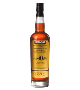 KIRKLAND SIGNATURE GLENLIVET 40 YEAR OLD