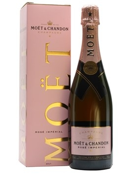RƯỢU CHAMPAGNE MOET & CHANDON ROSE IMPERIAL 750 ml / 12%