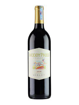 RƯỢU VANG MOODY PRESS MERLOT 750 ml / 14,1%