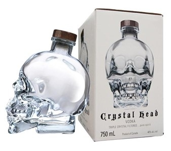 RƯỢU VODKA CRYSTAL HEAD (750ML / 40%)
