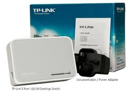 SWITCH TP-LINK TL-SF1005D - 5 PORT 10/100