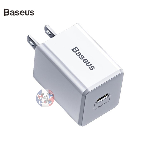 Bộ sạc nhanh PD 18W Baseus Traveler PD3.0 PPS QuickCharge cho iPhone