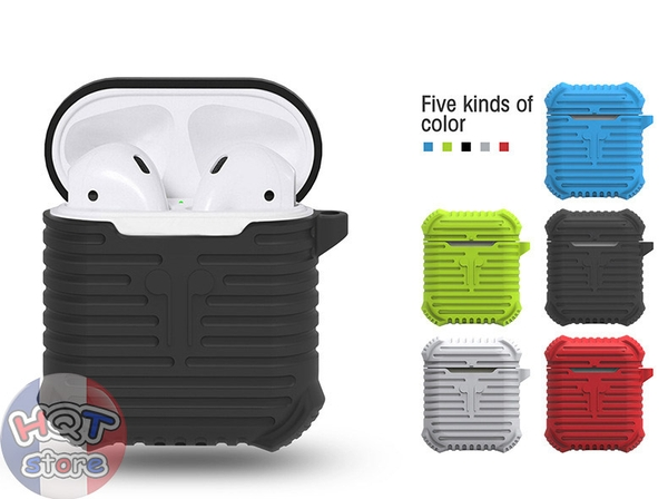 Case silicon chống shock cho tai nghe Apple Airpods i-Smile