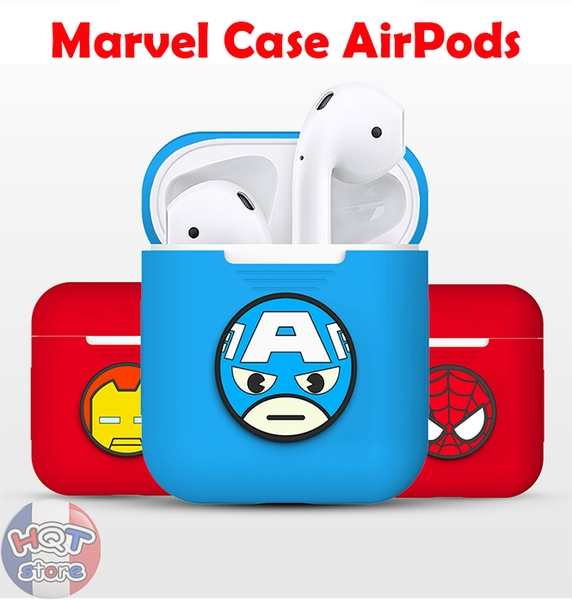 Case Silicon Siêu Anh Hùng Marvel Avengers Endgame cho Airpods